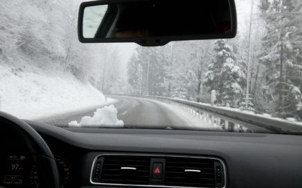 Bridgestone Reifentest DriveGuard Winterreifen auf Glatteis und Schnee 1